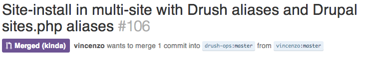 Pull Request Merged